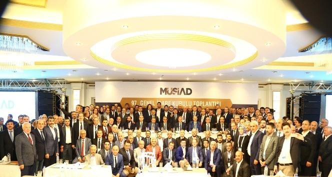 MÜSİAD Düzce yönetimi 97. Genel İdare Kuruluna katıldı