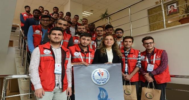 Damla Projesi Gönüllülerinden Düzce Üniversitesi'ne ziyaret