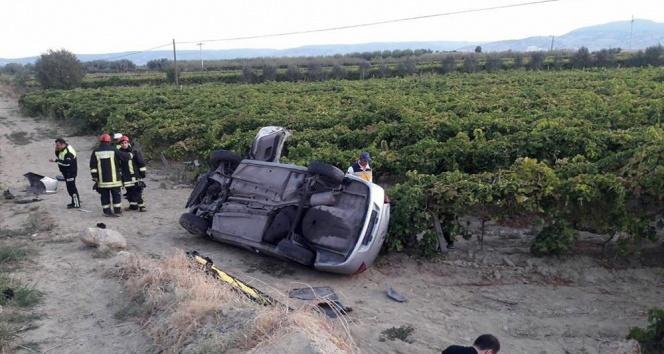 Asker ziyaretine giderken kaza yaptılar: 1 ölü, 2 yaralı