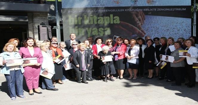 Görme engelli vatandaşları sevindiren 'kitap' kampanya