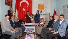 AK Parti Taşlıçay İlçe teşkilatında devir teslim