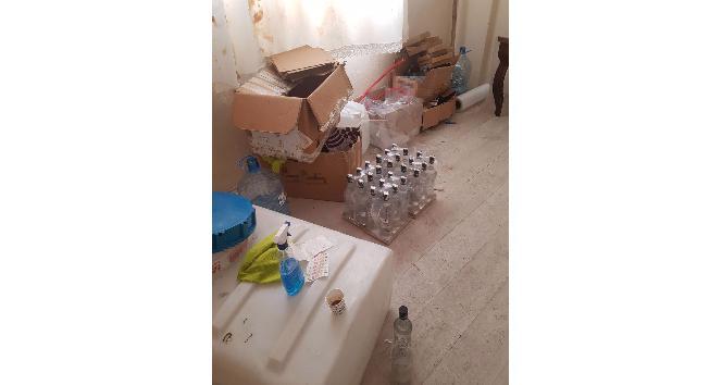 Bağcılar'da sahte içki imalathanesine polis baskını: 7 gözaltı