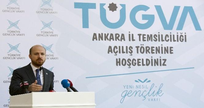 Bilal Erdoğan, TÜGVA Ankara İl Temsilciliği binasının açılışını yaptı