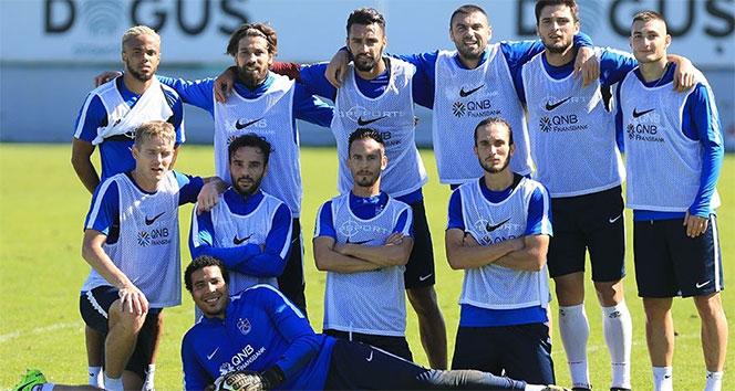Trabzonspor'da neşeli idman!