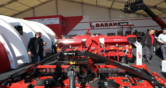 Bursa Tarım Fuarına  Başak traktör ve başak Agri damga vurdu