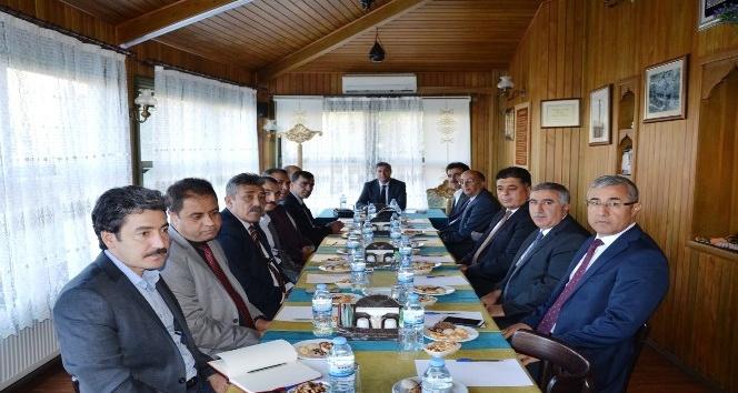 Milli eğitim müdürleri Darende'de toplandı