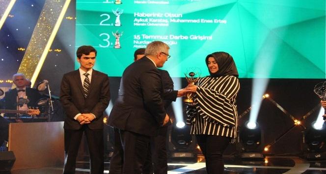 Atatürk Üniversitesi İletişim Fakültesi ödülle döndü