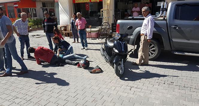 Manavgatta motosiklet kazaları: 4 yaralı