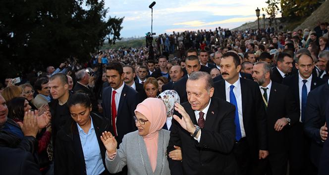 Cumhurbaşkanı Erdoğanın koruma ekibine yerli silah