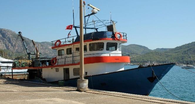 PKK'lı hainleri Lazkiye'den Muğla'ya getiren balıkçı teknesi ilk kez görüntülendi