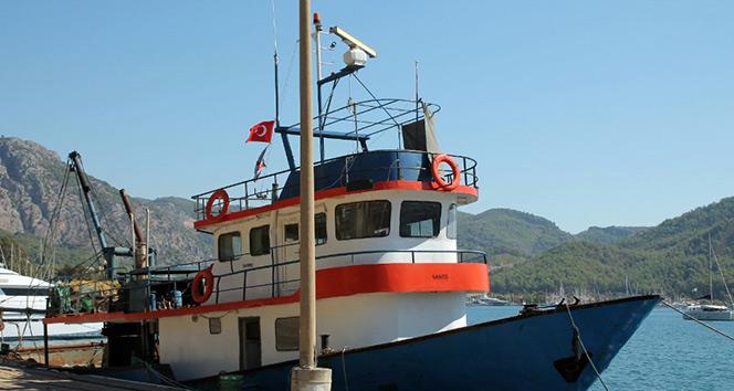 PKKlı hainleri getiren balıkçı teknesi ilk kez görüntülendi