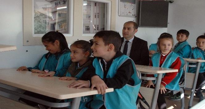 Ankara'da öğrenciler deprem simülasyonunda eğitim aldı