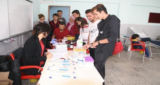 Devrek'te kan bağışı kampanyası