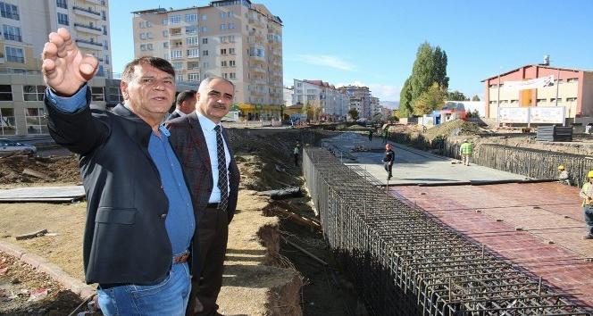 Sivas'ta alt geçit çalışmaları