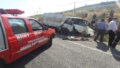 Siirtte trafik kazası: 2 ölü, 6 yaralı
