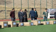 Elazığda amatör kulüplere malzeme yardımı