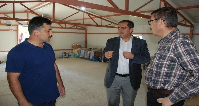 Hibe desteği alan genç çiftçiler ziyaret edildi