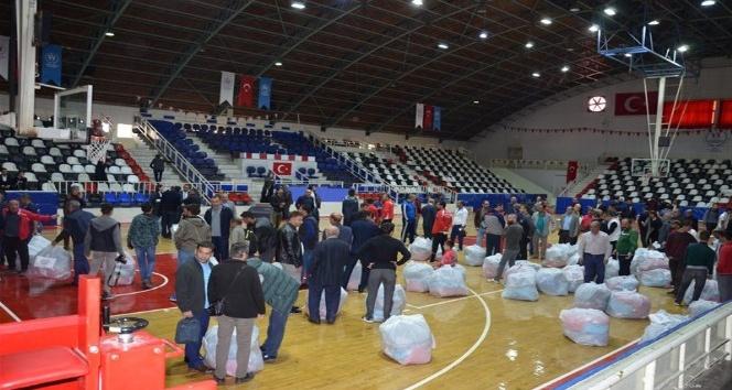 Malatya'da 123 amatör spor kulübüne malzeme yardımı