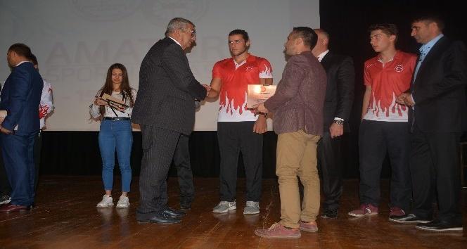 AKM'de '2017 spor branşları yılın sporcusu' ödül töreni gerçekleşti