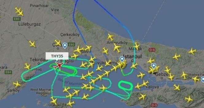 Rahatsızlanan yolcu THY uçağını geri döndürdü