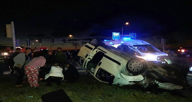Rize'de trafik kazası: 6 yaralı