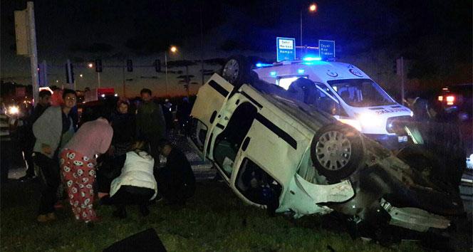 Rizede trafik kazası: 6 yaralı