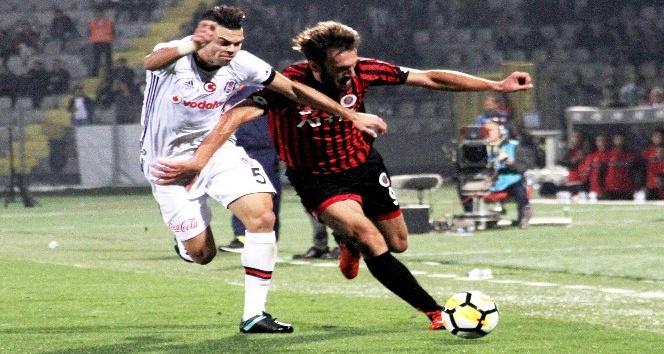 Süper Lig: Gençlerbirliği: 2 - Beşiktaş: 1 (Maç sonucu)