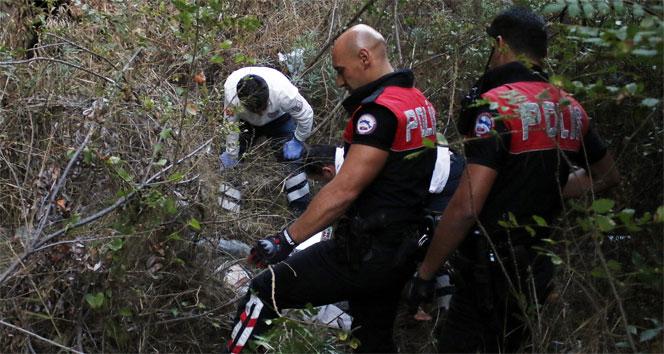 Antalyada falezlerde erkek cesedi bulundu !