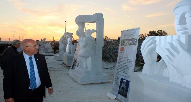 Üçüncü Bisanthe Taş Heykel Sempozyumu sona erdi