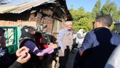 Varto Kaymakamı ve Belediye Başkan Vekili Çetinin mahalle ziyaretleri