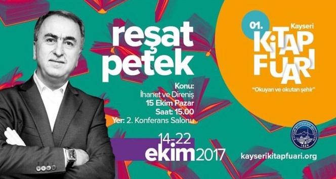 Milletvekili Petek, Kayseri Kitap Fuarında 15 Temmuzu anlatacak