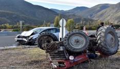 Tosyada trafik kazası: 2 yaralı