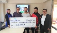 Avrupa Güreş Şampiyonu Aktürke  40 bin TL ödül