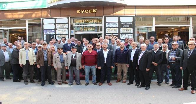 Karamanda Polis Emeklileri Derneğinin yeni hizmet binası açıldı