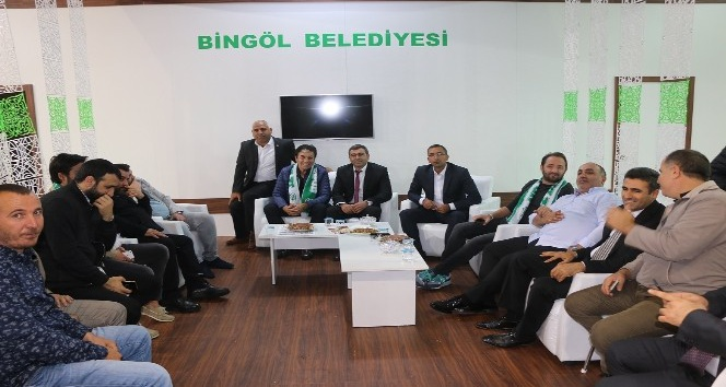 Bingöl Belediyesi Standına Yoğun İlgi