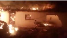 Geliboluda 2 ev, 1 ağıl yandı