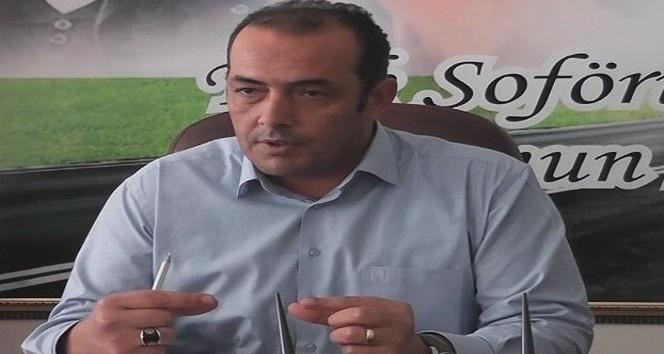 Şoförler ve Otomobilciler Odası Başkanı Mehmet Tekin: