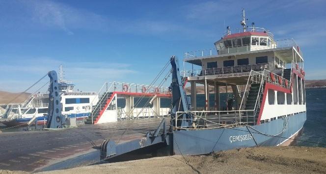 Elazığ-Çemişgezek arası feribot seferleri iptal