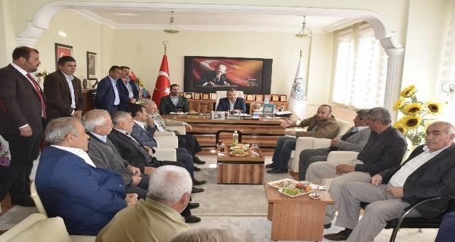 AK Partiden Kırıkkalenin ilçelerinde temayül yoklaması