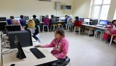 Yozgatta köy okullarına teknoloji sınıfı kurulmaya devam ediyor