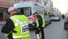 Elazığda motosiklet kazası:2 yaralı