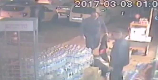 Acemi hırsızlar güvenlik kamerasında