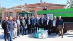 Edirnede 22,75 ton yem bitkisi tohumu dağıtıldı