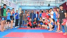 TATSOdan genç sporculara ziyaret