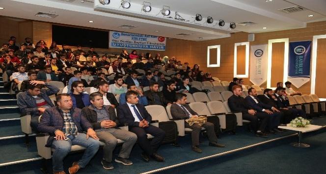 Bayburt'ta 'Uyuşturucu ile Mücadele' konferansı düzenlendi