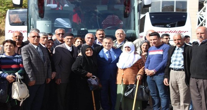 Tuncelili şehit ve gazi aileleri Karadeniz turuna gönderildi