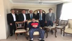 Ak Partili belediye başkanlarından Bilecik Belediye Başkan Yardımcısı Nihat Cana geçmiş olsun ziyareti