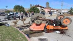 Tunçbilekte trafik kazası: 1 yaralı