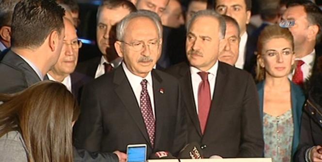 CHP Lideri Kılıçdaroğlu, Deniz Baykal'ı ziyaret etti