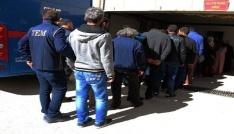 Elazığdaki FETÖ operasyonunda 6 şüpheli tutuklandı